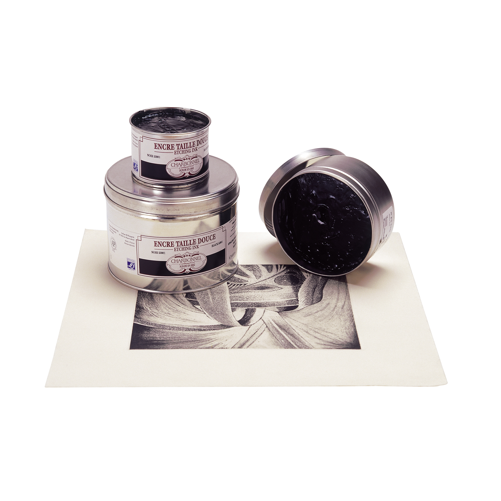Traditional Etching Inks - Blacks/Whites