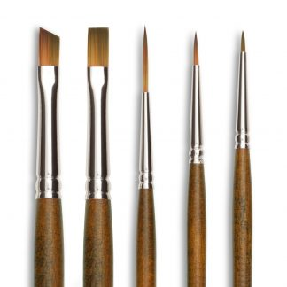 Precision Short Handled Brushes