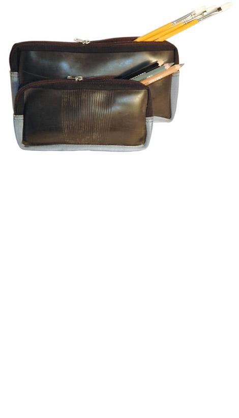 Upcycled Tire Brush Bag